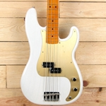 Fender 50s Precision Bass Lacquer, Maple Fingerboard, White Blonde