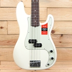 Fender American Professional Precision Bass, Olympic White, Rosewood Fingerboard