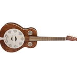 Fender Brown Derby Resonator, Rosewood Fingerboard, Brown Stain