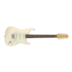 Fender Strat XII, Rosewood Fingerboard, Olympic White