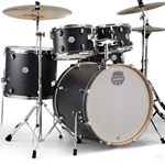 Mapex ST5295FIK Storm Rock 5Pc Drum Set w/Hardware, Ebony Blue Grain