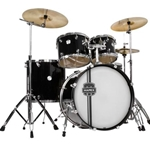 "Mapex Voyager 5pc (Black) 14""-10""-12""-16""-22"" w/stands"
