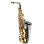 Antigua AS4248BG Alto Sax Black Nickel Body, Gold Plated Keys