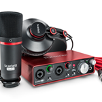 Focusrite Scarlett 2i2 Studio (2nd Gen) Recording Bundle