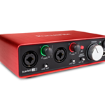 Focusrite 2i2 (2nd Gen) USB Audio Recording Interface