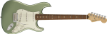 0144503519 Fender Player Stratocaster, Pau Ferro Fingerboard, Sage Green Metallic