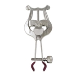 American Plating & Manufacturing Company APM 502N Clamp on Trumpet Lyre in Nickel