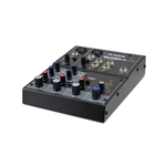 4-channel USB desktopmixer with 2-XLR inputs, EQ, built-in Alesis FX
