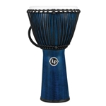 "LP 11"" Rope Djembe - Blue Finish"