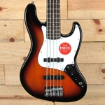 Squier Affinity Jazz Bass V, Brown Sunburst