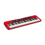 Casio CT-S200 Casiotone Portable Keyboard, 61 Keys - Red