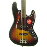 Squier Classic Vibe '60s Jazz Bass Fretless, 3-Color Sunburst