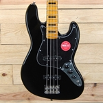 Squier Classic Vibe '70s Jazz Bass, Maple Fingerboard, Black