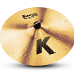"Zildjian K 18"" Dark Medium Thin Crash Cymbal"
