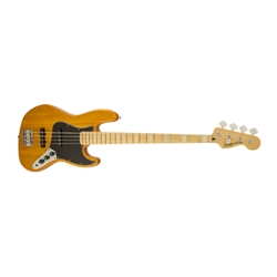 Squier Vintage Modified Jazz Bass® '77, Maple Fingerboard, Amber