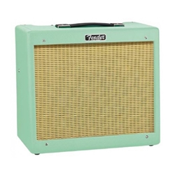 Fender Limited Edition Blues Junior IV Combo Amplifier Surf Green P12Q