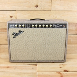 Fender '65 Deluxe Reverb Guitar Amp w/LTD Ed Fawn Covering, Celestion Greenback G12M
